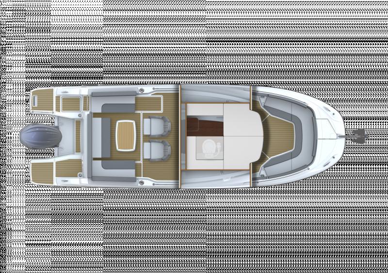 Cap Camarat 7.5 CC Série3 │ Cap Camarat Center Console of 7m │ Boat powerboat Jeanneau  23103