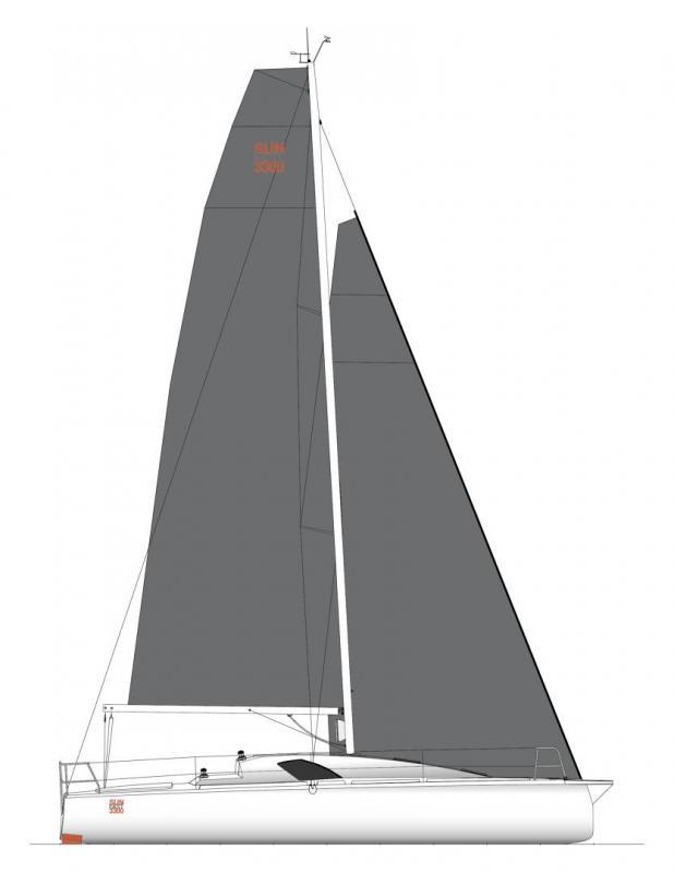 Sun Fast 3300 │ Sun Fast of 10m │ Boat Sailboat Jeanneau  19133