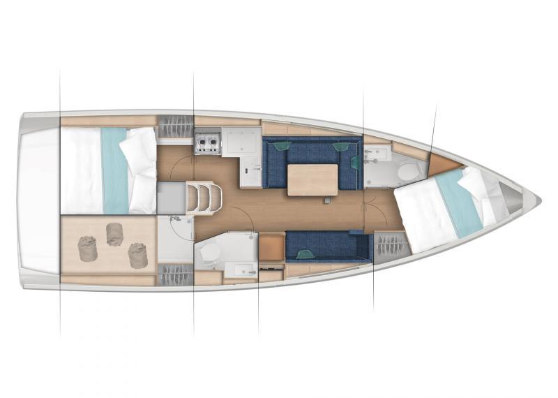 Sun Odyssey 380 │ Sun Odyssey of 11m │ Boat Sailboat Jeanneau  22982