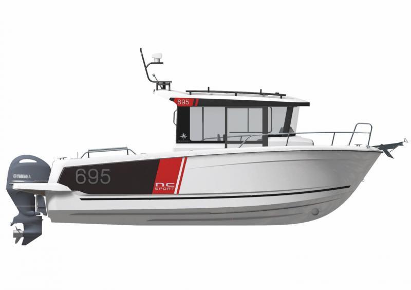 NC 695 Sport Series 2 │ NC Sport of 8m │ Boat powerboat Jeanneau  23178