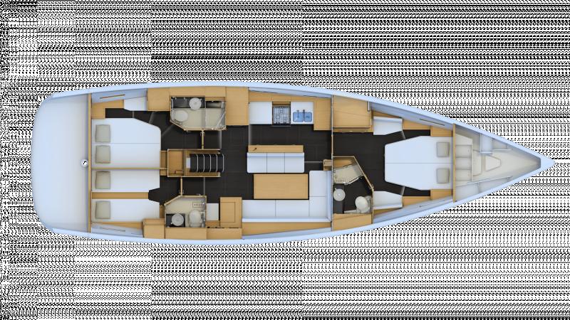 Jeanneau 54 │ Jeanneau Yachts of 16m │ Boat Segelboote Jeanneau  13581