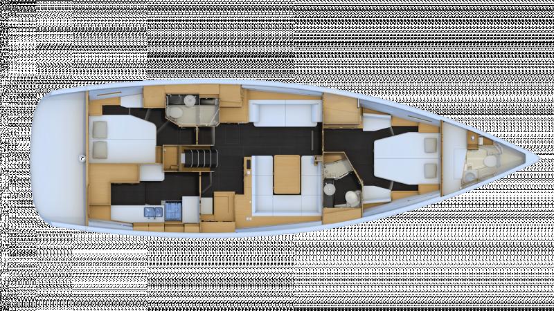 Jeanneau 54 │ Jeanneau Yachts of 16m │ Boat Segelboote Jeanneau  13582