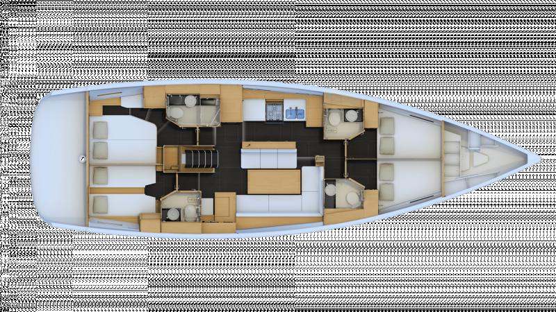 Jeanneau 54 │ Jeanneau Yachts of 16m │ Boat Segelboote Jeanneau  13583