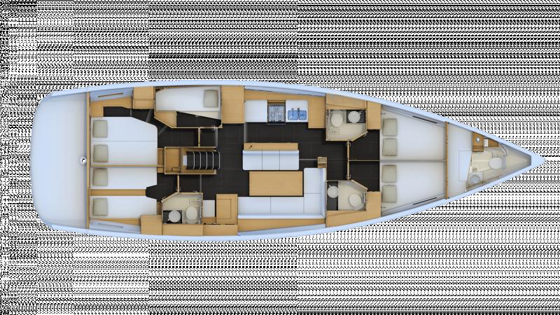 Jeanneau 54 │ Jeanneau Yachts of 16m │ Boat Segelboote Jeanneau  13584
