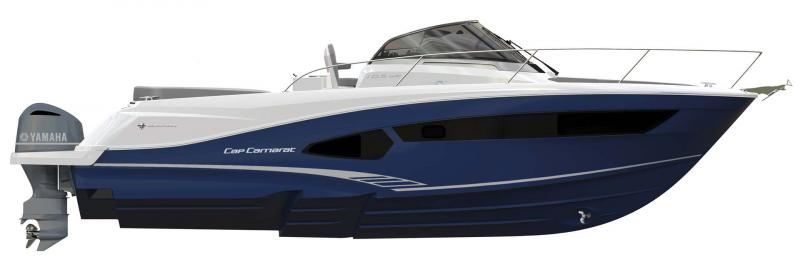 Cap Camarat 10.5 WA │ Cap Camarat Walk Around of 11m │ Boat Outboard Jeanneau  11231