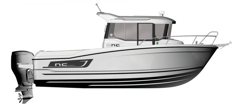 NC 695 Sport │ NC Sport of 7m │ Boat Outboard Jeanneau  15055