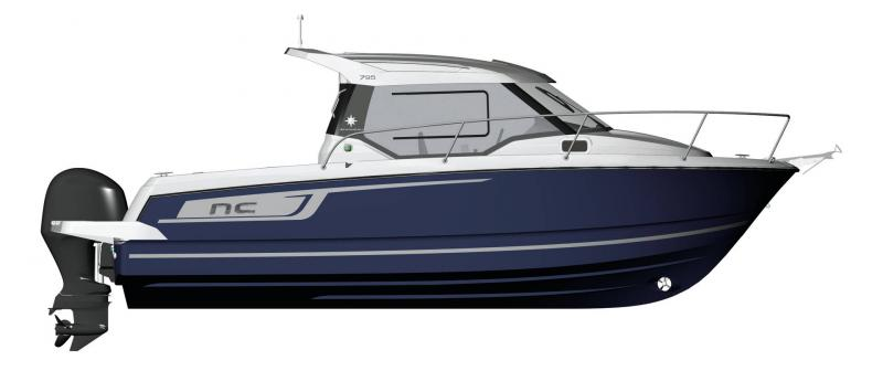 NC 795 │ NC of 8m │ Boat Outboard Jeanneau  14989