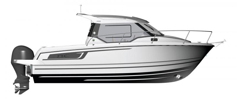 NC 795 │ NC of 8m │ Boat Outboard Jeanneau  14990