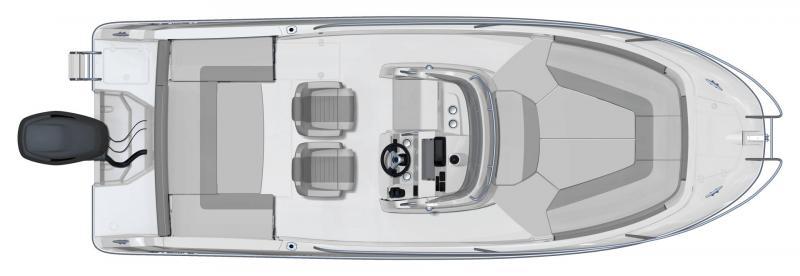 Leader 7.5 CC │ Leader CC of 7m │ Boat Fuera-borda Jeanneau  16723