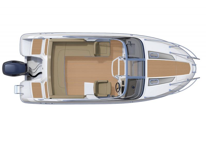 Cap Camarat 6.5 DC │ Cap Camarat Day Cruiser of 6m │ Boat powerboat Jeanneau boat plans 364