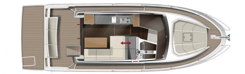Velasco 37F │ Velasco of 11m │ Boat Intra-borda Jeanneau  14878