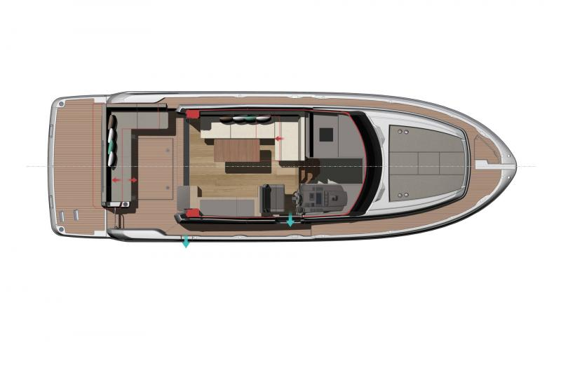 NC 37 │ NC of 11m │ Boat Inboard Jeanneau  11865