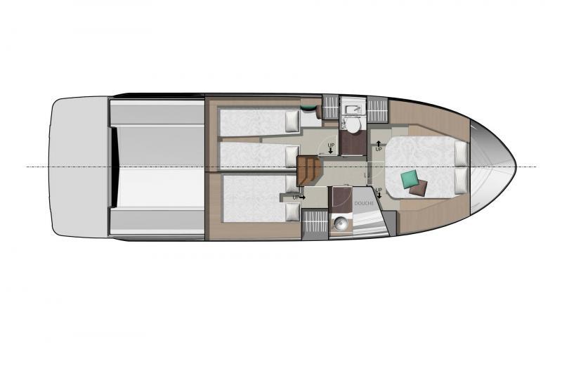 NC 37 │ NC of 11m │ Boat Inboard Jeanneau  11866