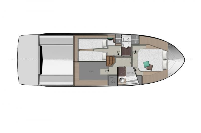 NC 37 │ NC of 11m │ Boat Inboard Jeanneau  11864