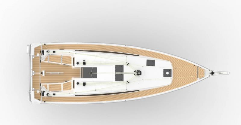 Sun Odyssey 410 │ Sun Odyssey Walk-Around of 12m │ Boat Sailboat Jeanneau  11898