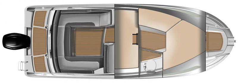 Cap Camarat 7.5 DC │ Cap Camarat Day Cruiser de 7m │ Bateaux Hors Bord Jeanneau  12991