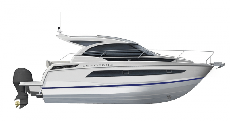 Leader 33 OB │ Leader of 11m │ Boat Outboard Jeanneau  15297