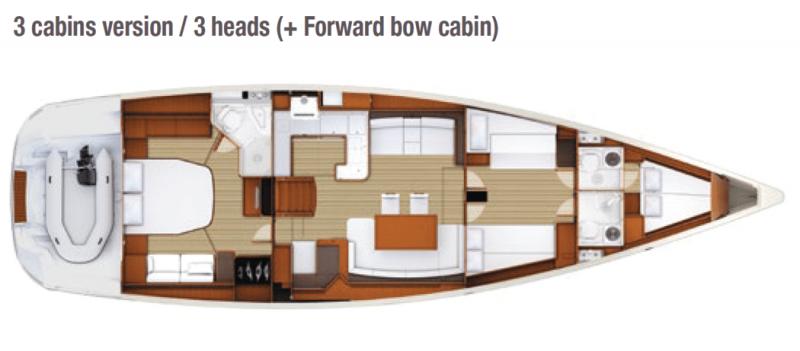 Jeanneau 58 │ Jeanneau Yachts of 18m │ Boat Sailboat Jeanneau  13646