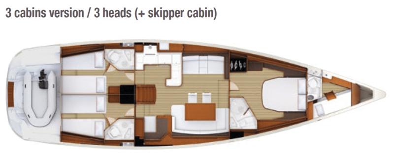 Jeanneau 58 │ Jeanneau Yachts of 18m │ Boat Sailboat Jeanneau  13645