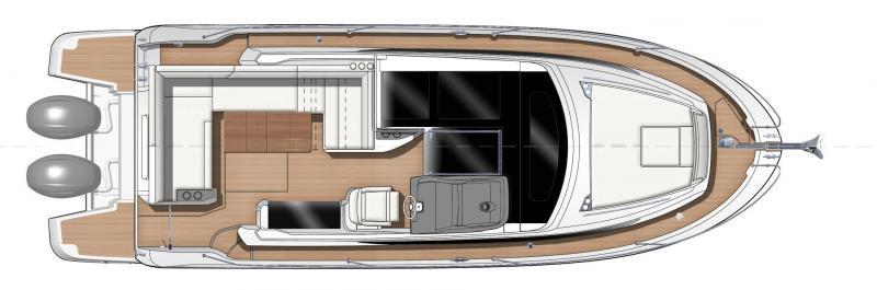 Leader 33 OB │ Leader of 11m │ Boat Outboard Jeanneau  15296