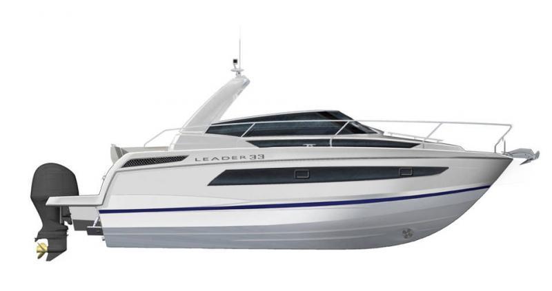 Leader 33 OB │ Leader of 11m │ Boat Outboard Jeanneau  15298