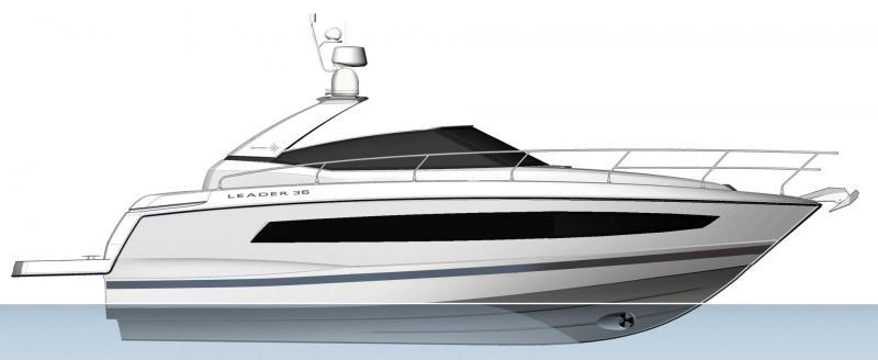 Leader 36 │ Leader of 12m │ Boat Inbord Jeanneau  14336
