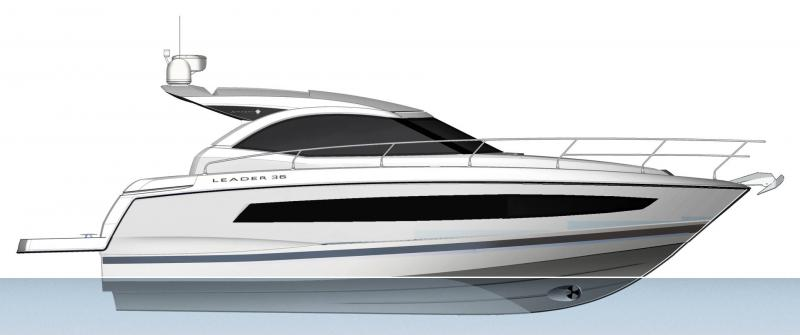 Leader 36 │ Leader of 12m │ Boat Inbord Jeanneau  14337