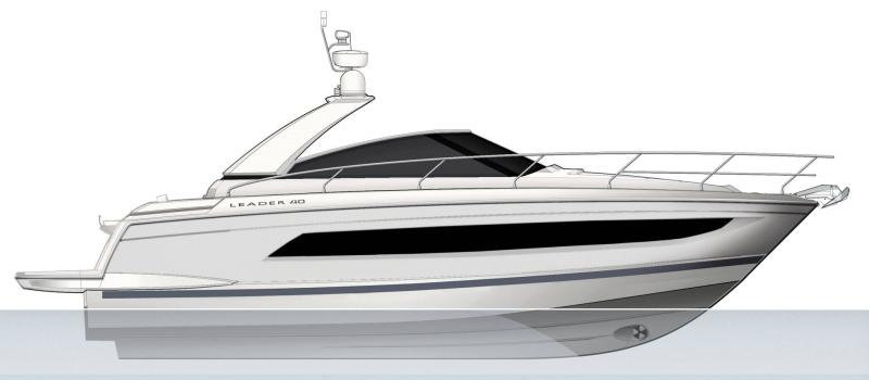 Leader 40 │ Leader of 12m │ Boat Intra-borda Jeanneau  14409