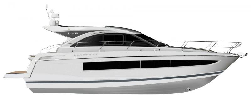 Leader 46 │ Leader of 14m │ Boat Inboard Jeanneau  14475