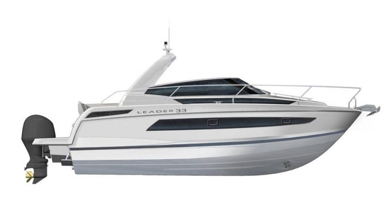 Leader 33 │ Leader of 11m │ Boat Intra-borda Jeanneau  14296