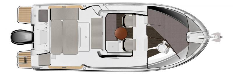 NC 695 Sport │ NC Sport of 7m │ Boat Outboard Jeanneau  15498