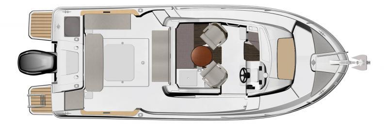 NC 695 Sport │ NC Sport of 7m │ Boat Outboard Jeanneau  15499