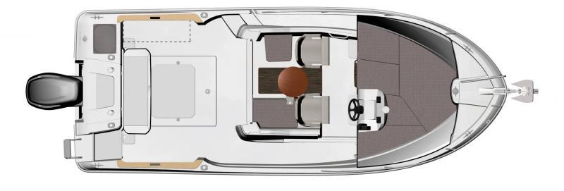 NC 695 Sport │ NC Sport of 7m │ Boat Outboard Jeanneau  15500