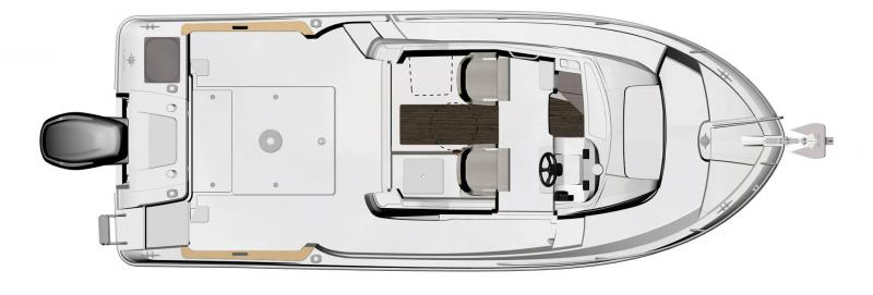 NC 695 Sport │ NC Sport of 7m │ Boat Outboard Jeanneau  15501