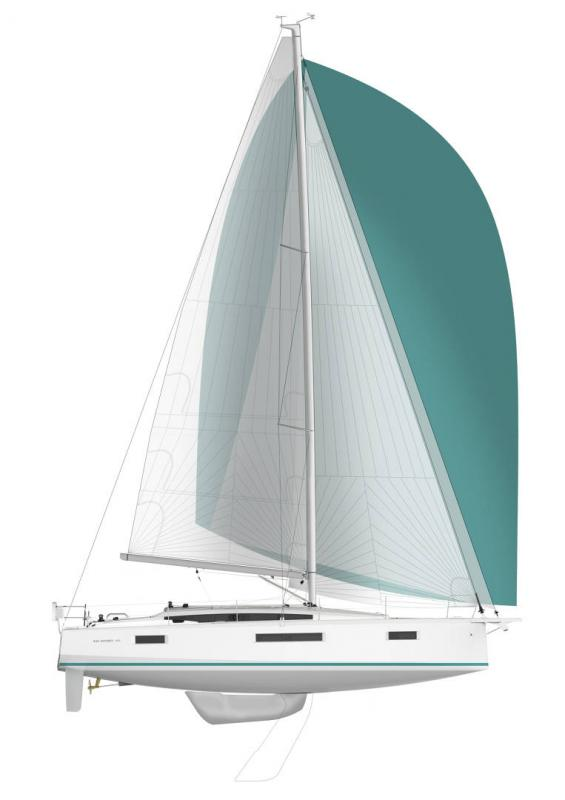 Sun Odyssey 410 │ Sun Odyssey Walk-Around of 12m │ Boat Sailboat Jeanneau Swing Keel 2020 version 16159