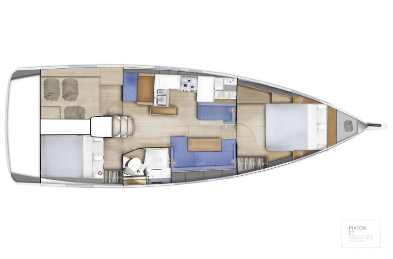 Sun Odyssey 410 │ Sun Odyssey Walk-Around of 12m │ Boat Sailboat Jeanneau  16144