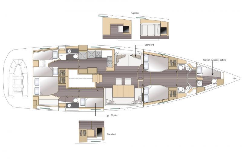 Jeanneau 64 │ Jeanneau Yachts de 20m │ Bateaux Voiliers Jeanneau  16342