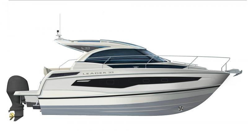 Leader 33 │ Leader of 11m │ Boat powerboat Jeanneau  18344