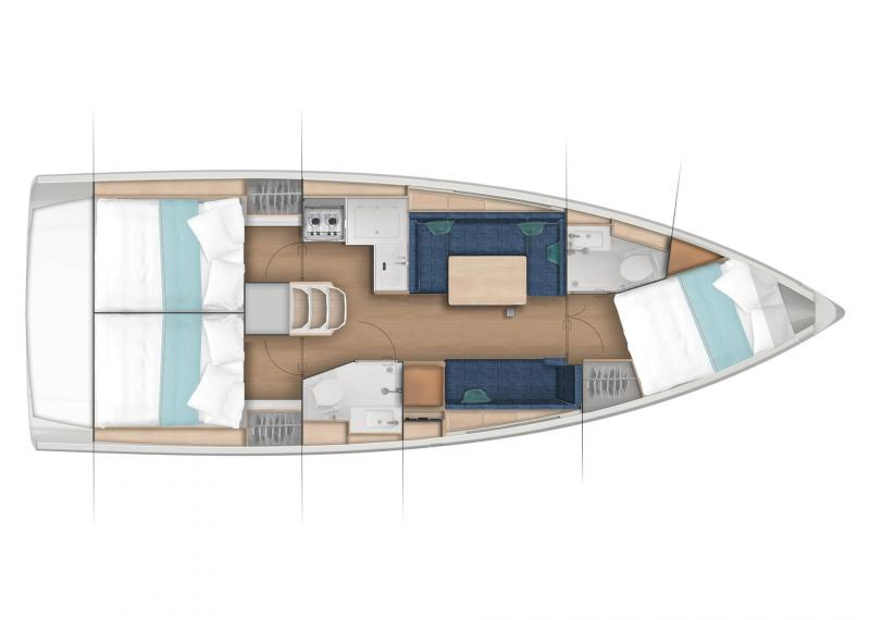 Sun Odyssey 380 │ Sun Odyssey of 11m │ Boat Sailboat Jeanneau  22984