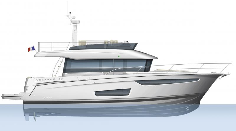 Velasco 43 │ Velasco of 14m │ Boat powerboat Jeanneau boat plans 631
