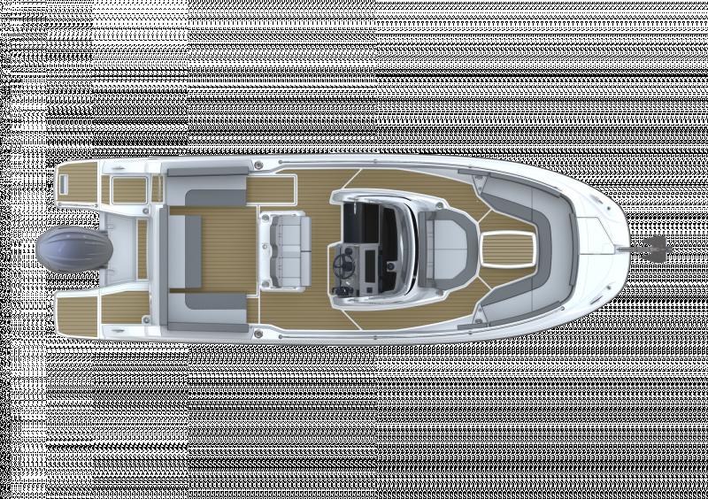 Cap Camarat 7.5 CC Série3 │ Cap Camarat Center Console of 7m │ Boat powerboat Jeanneau  23098