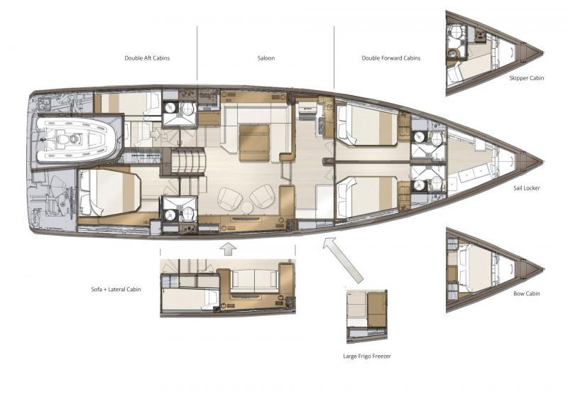 Jeanneau Yachts 60 │ Jeanneau Yachts of 18m │ Boat Veleros Jeanneau  22489