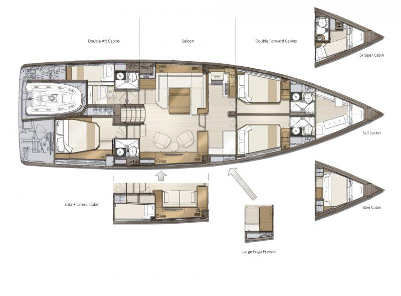 Jeanneau Yachts 60 │ Jeanneau Yachts of 18m │ Boat Sailboat Jeanneau  22489