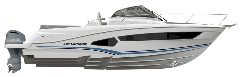 Cap Camarat 10.5 WA │ Cap Camarat Walk Around of 11m │ Boat Outboard Jeanneau  17098
