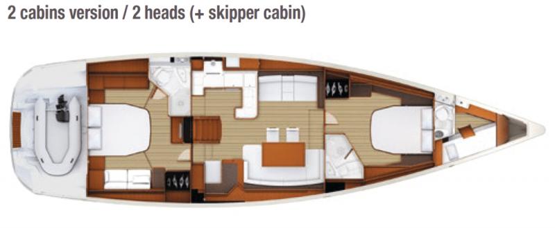 Jeanneau 58 │ Jeanneau Yachts of 18m │ Boat Sailboat Jeanneau  17580