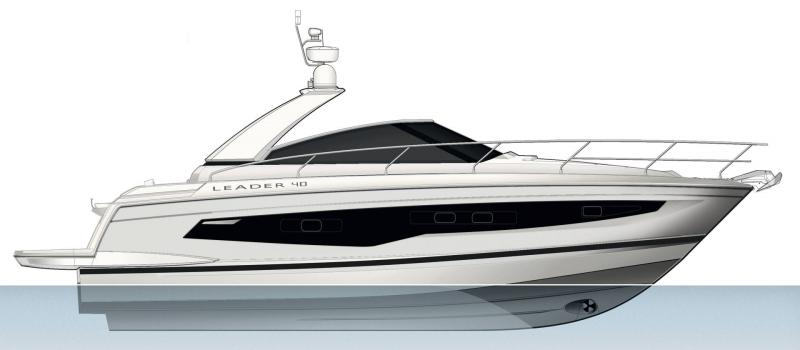 Leader 40 │ Leader of 12m │ Boat powerboat Jeanneau  18460