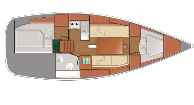 Sun Odyssey 319 │ Sun Odyssey of 10m │ Boat Barche a vela Jeanneau  9333