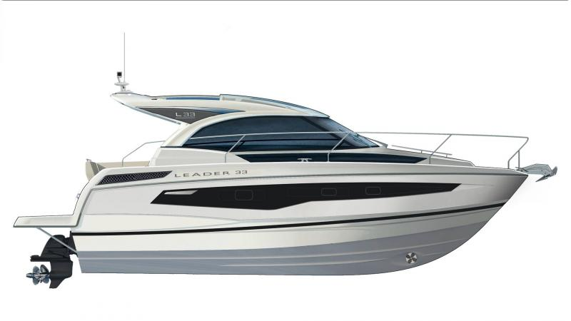 Leader 33 │ Leader of 11m │ Boat powerboat Jeanneau  18343