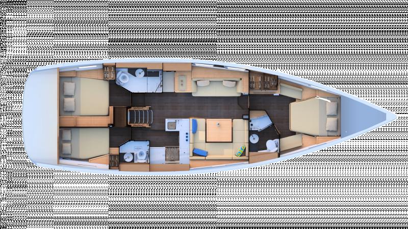 Jeanneau Yachts 51 │ Jeanneau Yachts de 15m │ Bateaux Voiliers Jeanneau  17459