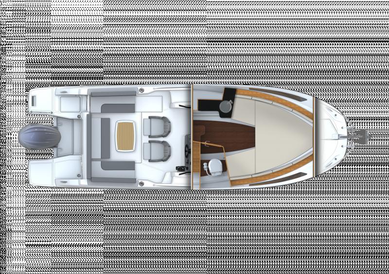 Leader 7.5 Series 3 │ Leader of 7m │ Boat powerboat Jeanneau  23143